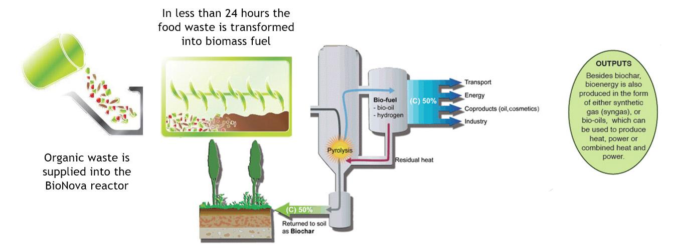 BioNova - Biomass to Pyrolysis